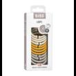 Bibs karikák - krémfehér - méz - homok