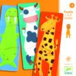 Képkirakó - Vidám állatok - Fancy animals- DJECO