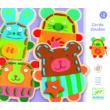 Fűzős játék - Édes állatok - Cuddly lacing- DJECO