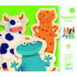 Mágneses képkirakó - Vicces állatok - Crazy animals- DJECO