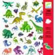 Matricák - Dinoszauruszok - Dinosaurs- DJECO
