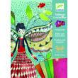Fémfóliás színezés - Szentjánosbogarak - Fireflies- DJECO