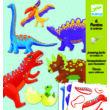 Kapcsos állatfigura készítés - Dínók - Dinos- DJECO