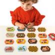 Petit Collage memóriajáték – építkezés
