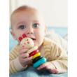 Petit Collage 100% organikus fejlesztő fa játék, csörgő, nyuszi