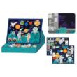Petit Collage 100% organikus mágneses kreatív képalkotó játék – űrben