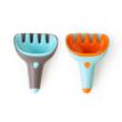 Quut lapát + gereblye homokozáshoz kertészkedéshez - Raki - Vintage kék + Erős narancs