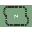 Waytoplay rugalmas autópálya 24 db-os (Highway)