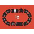 Waytoplay rugalmas autópálya 12 db-os (Ring road)