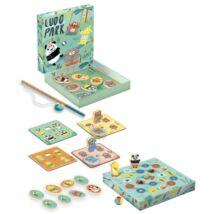 Társasjáték - Játszótér, 4 játék - LudoPark, 4 games- DJECO