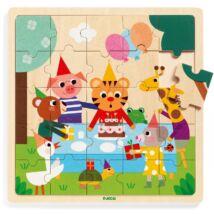 Puzzle - Cickom szülinapja - Puzzlo Happy Djeco