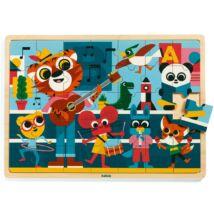 Puzzle - Koncert - Puzzlo Music Djeco