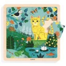 Képkirakó, puzzle - Lili cica - Puzzlo Lili