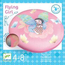 Frizbi - Csajos - Flying Girl Djeco