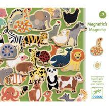 Mágneses kirakó - Vonzó állatfigurák - Magnimo