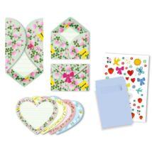 Parti játék - Meghívókártyák - Hearts invitation cards- DJECO