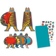 Parti játék - Meghívókártyák - Superheroes invitation cards- DJECO