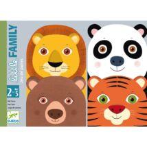 Pártaláló kártyajáték - Szüli - Little Family - Djeco