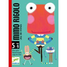 Kártyajáték - Grimaszoló - Mimo Rigolo- DJECO