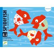 Fürdőkád játék - Vízikártya - Spidifish- DJECO