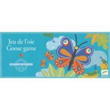 Társasjáték klasszikus -  Libacsapat játék - Goose game- DJECO