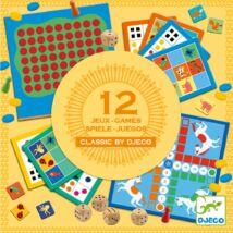 Társasjáték klasszikus - Társasjáték készlet KJ4+ - Classic box 4+ Djeco