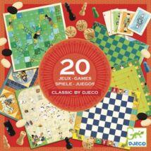 Társasjáték klasszikus - Classic box - 20 játék- DJECO