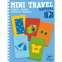 Mini utazó játék -  Memória - Katupri- DJECO