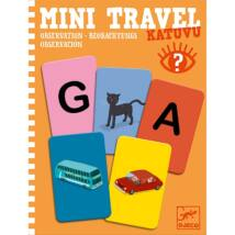 Mini utazó játékok - Betű-kép - Katuvu- DJECO
