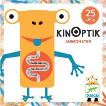 Optikai puzzle - Kinoptik Animonster - 25 db-os- DJECO