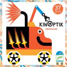 Optikai puzzle - Kinoptik Véhicles - 37 db-os- DJECO