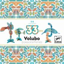 Építőjáték - Halraj - Volubo fishes- DJECO