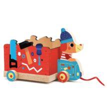 Húzható játék - Jo truck- DJECO