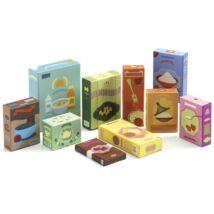 Boltos, vásárlós - Élelmiszerek - Grocery set- DJECO
