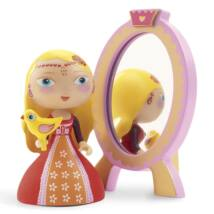 Hercegnő  tükörrel - Nina and ze mirror- DJECO