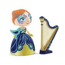 Hercegnő hárfával - Elisa and Ze Harpe- DJECO
