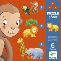 Óriás puzzle - Marmoset és barátai - Marmoset and friends- DJECO