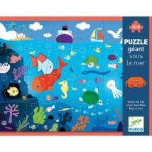 Óriás puzzle - A tenger alatt - Under the sea - DJECO