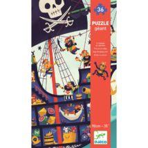 Óriás puzzle - The pirate ship Djeco