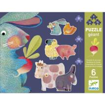 Óriás puzzle - Pitypang és barátai - Dandelion and friends- DJECO