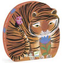 Formadobozos puzzle - A tigris sétája - The tiger's walk- DJECO