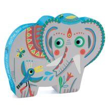 Haathee, Asian elephant - 24pcs- DJECO