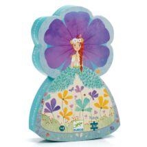 Formadobozos puzzle - Tavasz hercegnő - The princess of spring Djeco