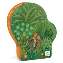 Formadobozos puzzle - In the Jungle Djeco
