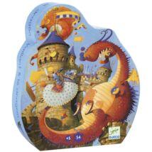 Formadobozos puzzle - Vaillant és a sárkány - Vaillant and the dragon- DJECO