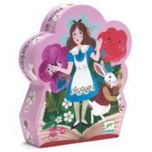 Formadobozos puzzle - Alice csodaországban - Alice in wonderland- DJECO