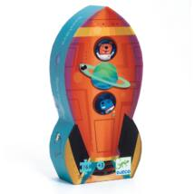Formadobozos puzzle - Űrhajó - Spaceship Djeco