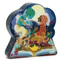 Formadobozos puzzle - Aladdin