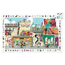 Megfigyeltető puzzle - Utcai művészet, 200 db-os - Street art- DJECO