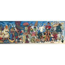 Művész puzzle - Fantasztikus zenekar, 500 db-os - Fantasy Orchestra- DJECO